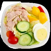 燻雞沙拉w