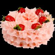 生日蛋糕-3 天使心