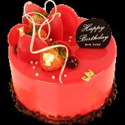 生日蛋糕-8 花漫玫瑰
