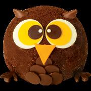 造型蛋糕-1 Woo貓頭鷹