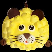 造型蛋糕-2 黃金獅