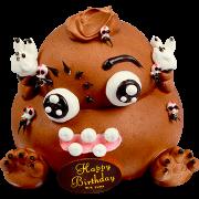 造型蛋糕-4 便便王